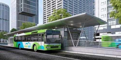 Buyt nhanh BRT van chuyen 750 nghin luot khach hinh anh 1