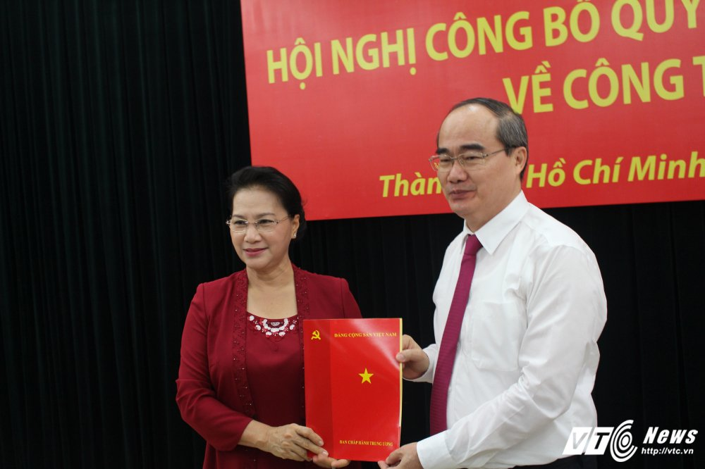 Ong Nguyen Thien Nhan lam Bi thu Thanh uy TP.HCM hinh anh 1