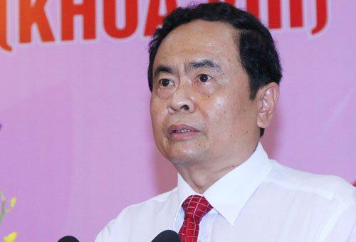 Ong Tran Thanh Man, Tran Cam Tu duoc bau vao Ban Bi thu hinh anh 1