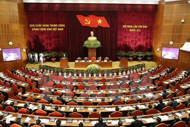Tong Bi thu Nguyen Phu Trong: 'Bo may he thong chinh tri con cong kenh, kem hieu luc' hinh anh 2