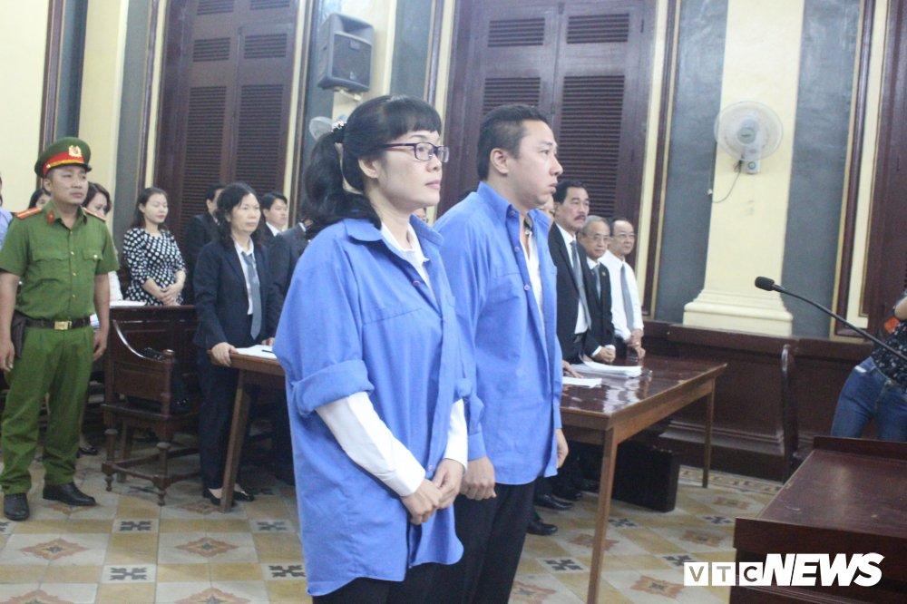 Huyen Nhu xin giam an cho dong pham Vo Anh Tuan hinh anh 1