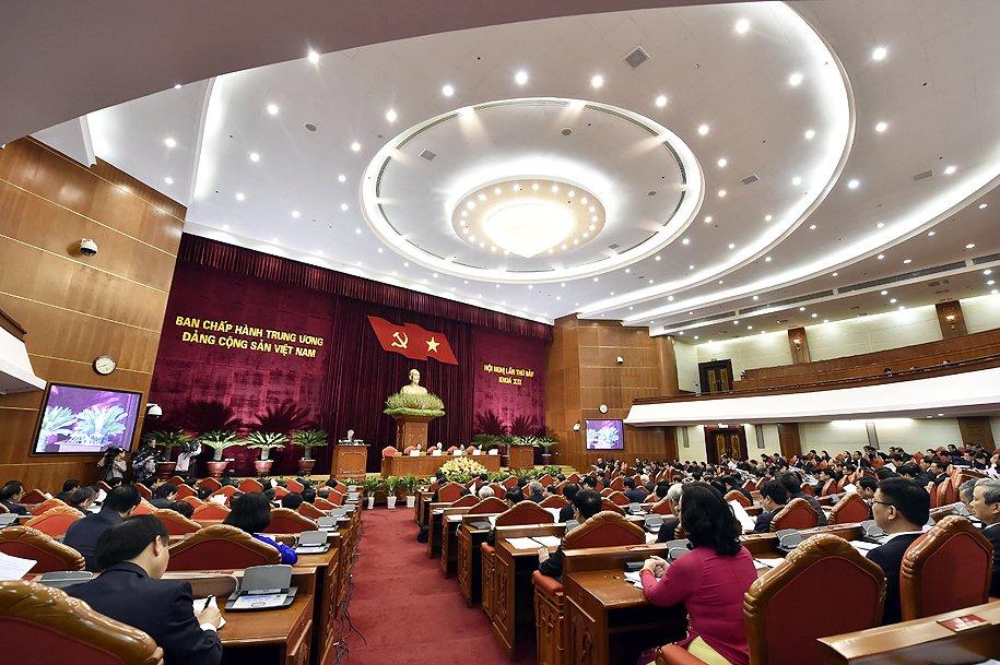 Tong Bi thu: Xu ly nghiem to chuc, ca nhan vi pham gop phan ran de, lam trong sach doi ngu can bo hinh anh 1