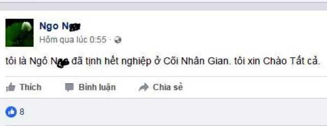 Nguoi phu nu Hue tu thieu duoi chan doi: Truoc khi chet, len facebook 'chao tat ca' hinh anh 1