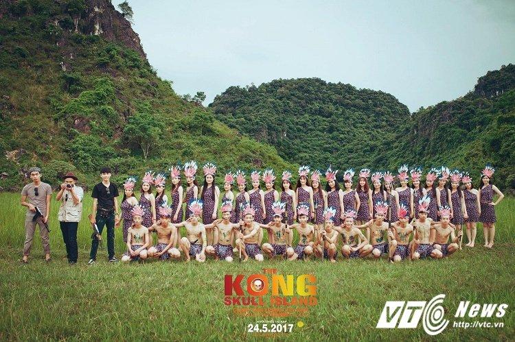 Chet cuoi voi 'Kong: Dao dau lau' phien ban anh ky yeu cua hoc sinh Quang Binh hinh anh 3