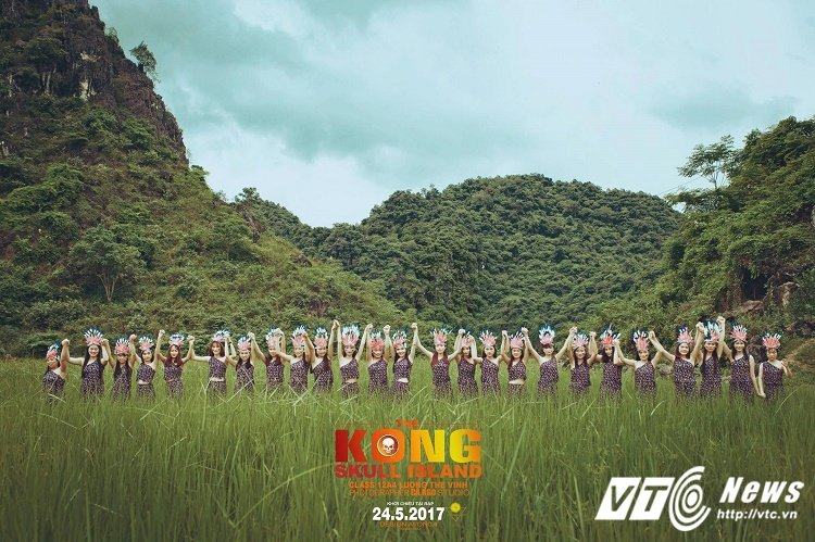 Chet cuoi voi 'Kong: Dao dau lau' phien ban anh ky yeu cua hoc sinh Quang Binh hinh anh 5