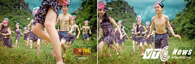 Chet cuoi voi 'Kong: Dao dau lau' phien ban anh ky yeu cua hoc sinh Quang Binh hinh anh 8