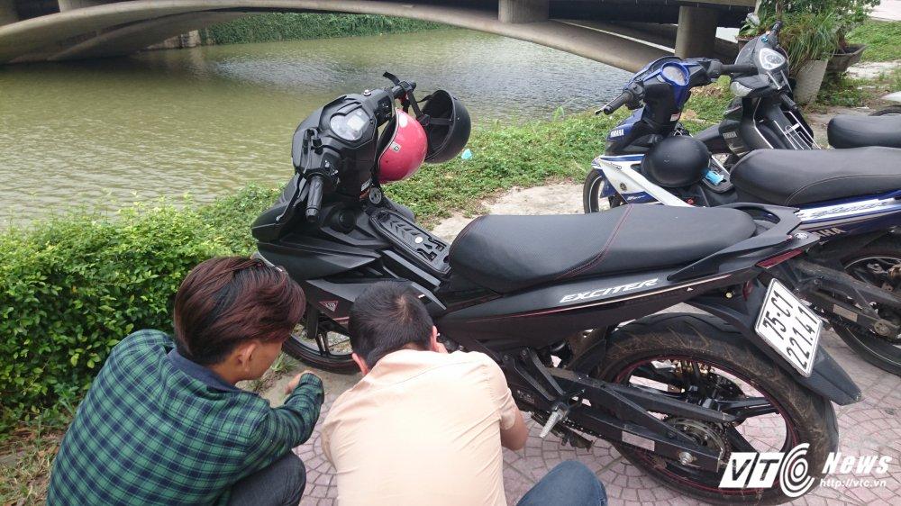 Tu y son lai mau xe Yamaha Exciter ban cho khach voi gia cao o Hue: Cong an len tieng hinh anh 1