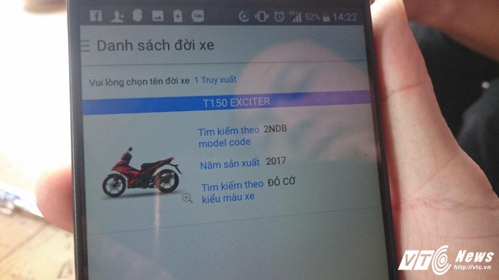 Tu y son lai mau xe Yamaha Exciter ban cho khach voi gia cao o Hue: Cong an len tieng hinh anh 3