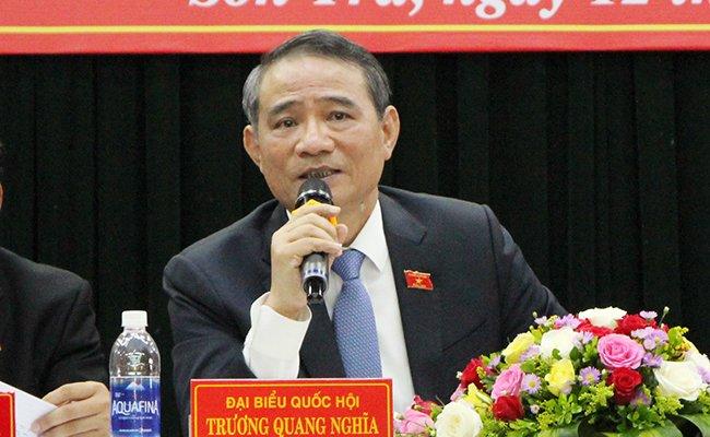Cu tri de nghi ong Huynh Duc Tho thoi lam Chu tich Da Nang: Bi thu Truong Quang Nghia noi gi? hinh anh 1