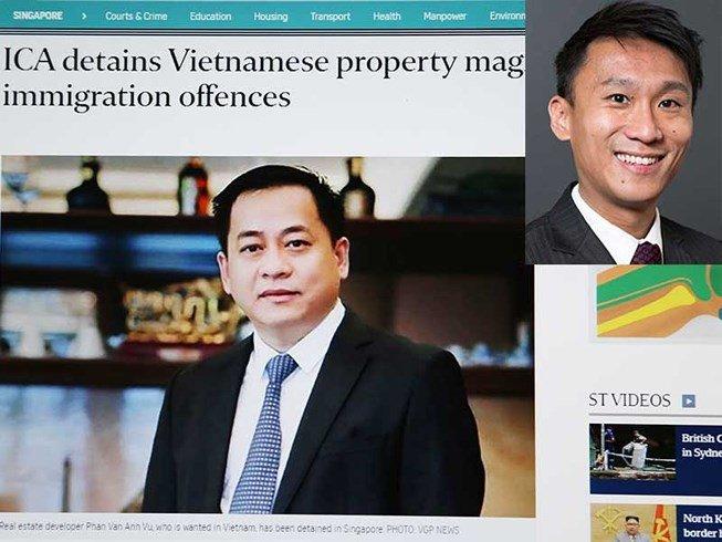 Ong Vu 'nhom' bi truc xuat khoi Singapore, may bay ha canh xuong Noi Bai hinh anh 2