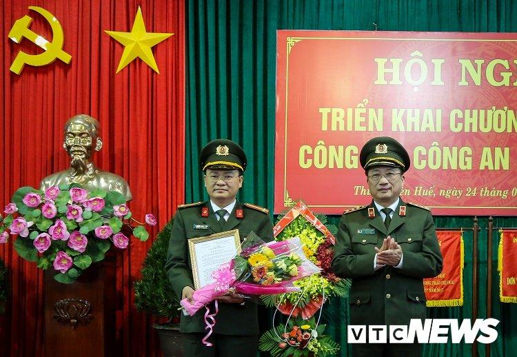 Nguyen Bi thu Doan Bo Cong an lam tan Pho giam doc Cong an Thua Thien - Hue hinh anh 1