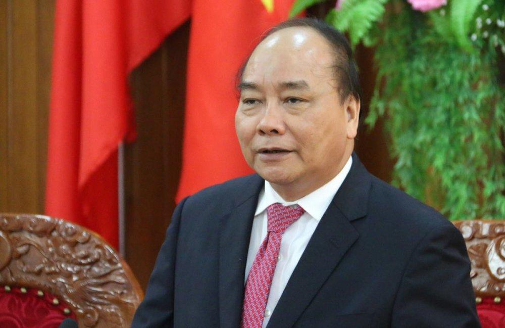 Thu tuong Nguyen Xuan Phuc tham, lam viec tai Quan khu 5 hinh anh 2