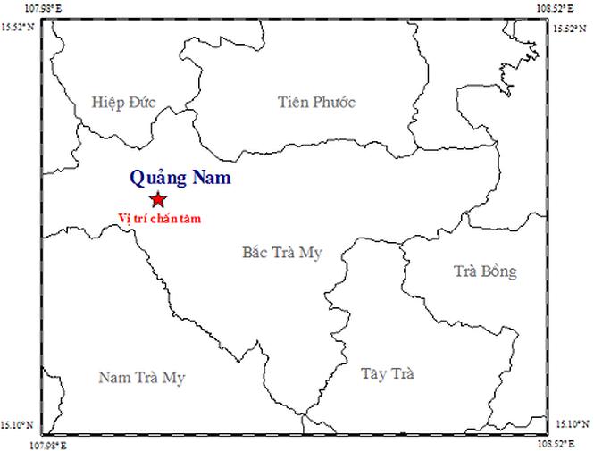 Dong dat 3,4 do richter tai Quang Nam, gan 30 nha dan bi nut hinh anh 1