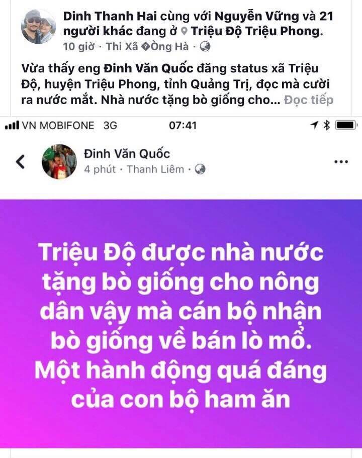 Thuc hu chuyen can bo xa mang bo chinh sach ban vao lo mo hinh anh 1