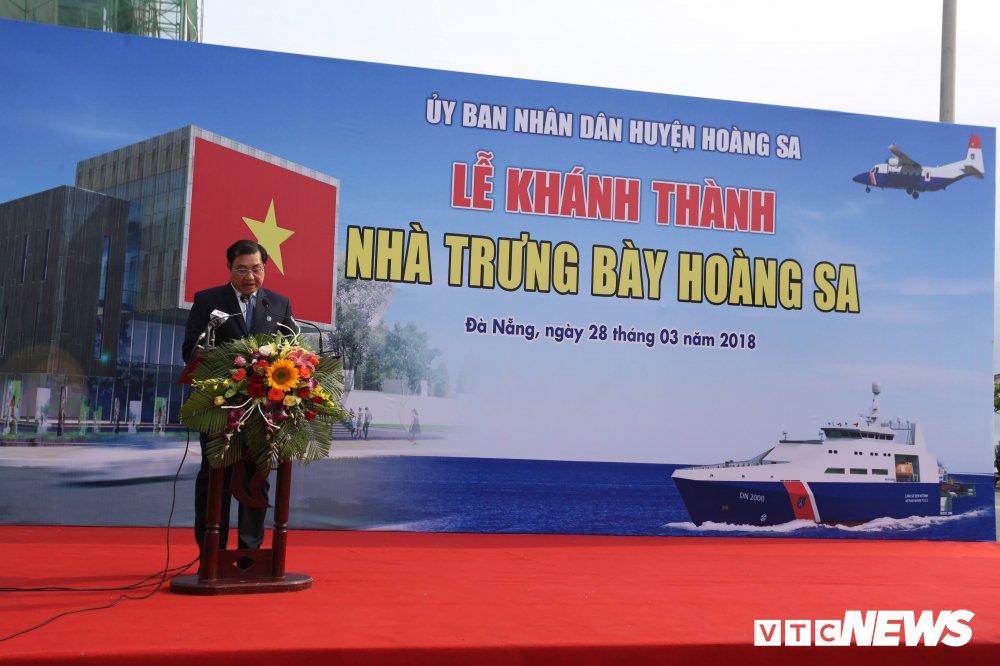 Chu tich Da Nang: 'Phai xem nha trung bay la khau quan trong de doi lai Hoang Sa' hinh anh 1