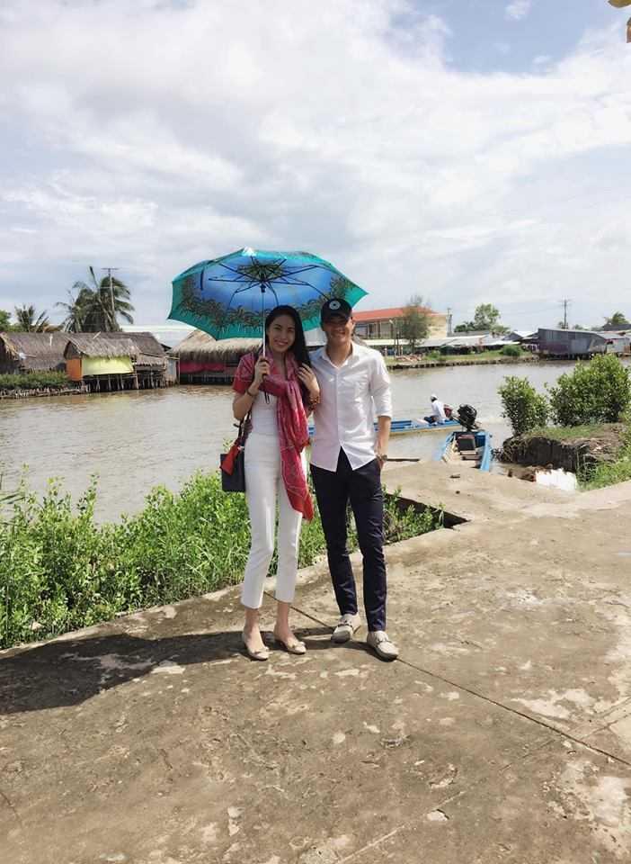 Cong Vinh, Thuy Tien xay cau cho tre em ngheo di hoc hinh anh 3