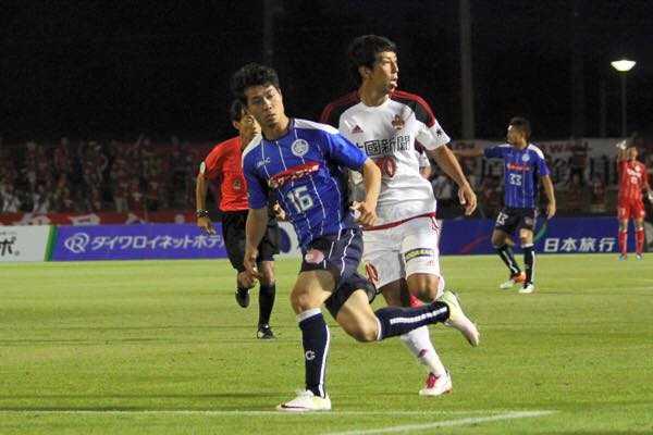 Cong Phuong ra san da chinh, Mito Hollyhock thang dam Kanazawa hinh anh 3
