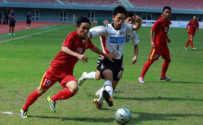 Hoa may man Sapporo, U19 Viet Nam vao chung ket Giai U19 KBZ Bank Cup 2016 hinh anh 1