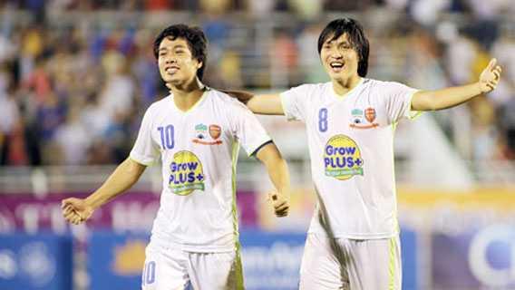 Bau Duc quyet dinh mang Cong Phuong, Tuan Anh ve da V-League 2017? hinh anh 1