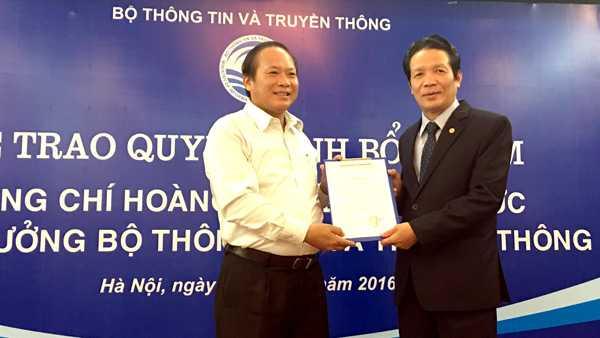 Ong Hoang Vinh Bao nham chuc Thu truong Bo TT&TT hinh anh 1