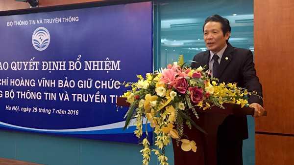 Ong Hoang Vinh Bao nham chuc Thu truong Bo TT&TT hinh anh 2