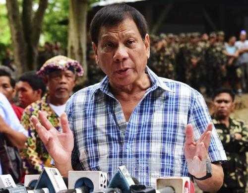 Tong thong Philippines doa dich than 'lot song da' quan tham hinh anh 1