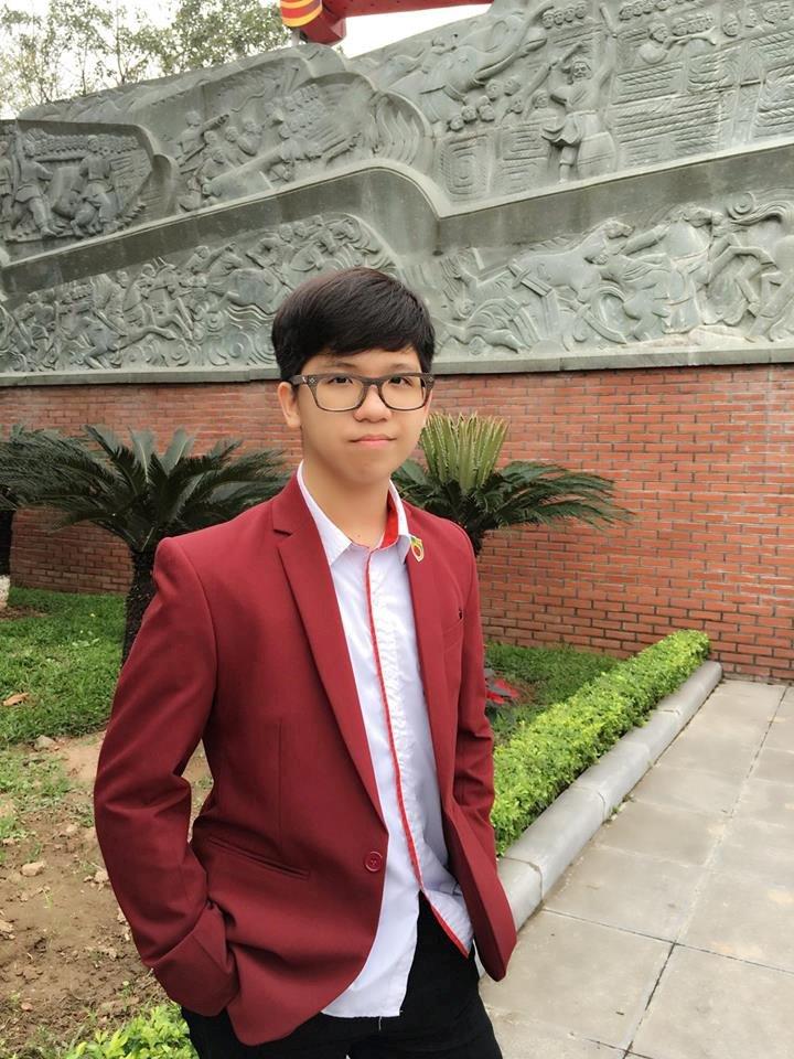 Ngam 10 guong mat 'hot' nhat truong THPT Nguyen Binh Khiem hinh anh 9