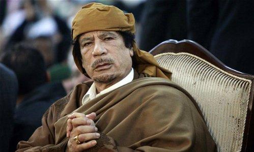 Chi tiet cuoc tron chay cuoi doi cua Gaddafi hinh anh 1