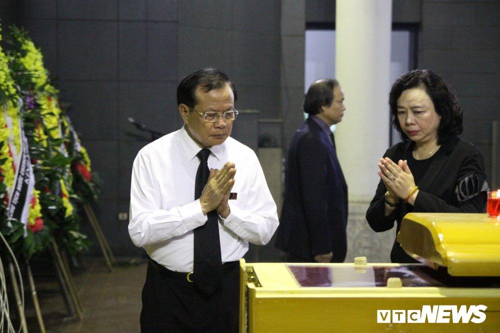 Anh: Lanh dao, nguyen lanh dao Dang, Nha nuoc xuc dong tien biet GS Phan Huy Le hinh anh 15