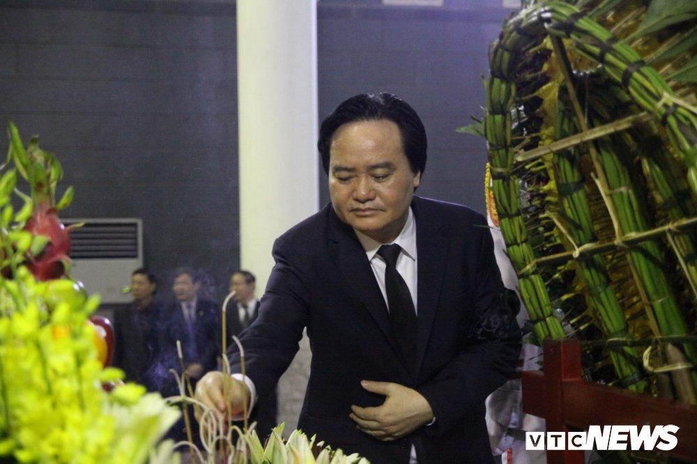 Anh: Lanh dao, nguyen lanh dao Dang, Nha nuoc xuc dong tien biet GS Phan Huy Le hinh anh 6