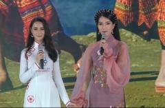 Thí sinh Hoa hậu Việt Nam 2020 thuyết trình song ngữ