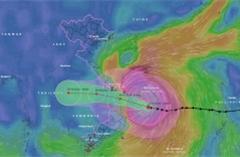 TRỰC TIẾP: Bão số 9 chưa giảm cấp, đổ bộ từ Đà Nẵng đến Phú Yên vào sáng nay