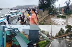 TRỰC TIẾP: Bão số 9 quần thảo Quảng Nam - Quảng Ngãi, hàng loạt nhà sập, tốc mái