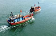 Đã liên lạc được với chủ tàu cá gặp nạn khi đi tìm 12 thuyền viên mất tích