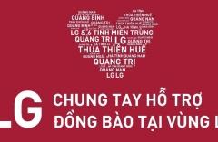 LG chung tay hỗ trợ đồng bào vùng lũ