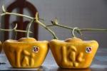 Sửng sốt với dưa hấu hình thỏi vàng bày Tết giá 3,5 triệu/quả