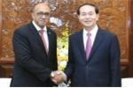 Chủ tịch nước Trần Đại Quang tiếp Đại sứ Cuba: Đập tan tin đồn xuyên tạc, bịa đặt