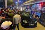 Video: Hiện trường tài xế say rượu tông hai bà bầu nhập viện rồi bỏ chạy ở Hà Nội