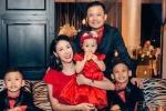 Vợ chồng Hoa hậu Hà Kiều Anh hạnh phúc trong ngày lễ tình nhân