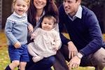 Hoàng tử Willam nắm tay con trai đến trường trong ngày đầu nhập học