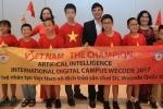 Việt Nam lần đầu tiên vô địch cả 3 cấp độ tại cuộc thi lập trình quốc tế