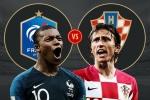 Dự đoán kết quả Pháp vs Croatia, soi kèo chung kết World Cup 2018