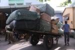 Bắt 10 tấn hàng lậu vận chuyển trên tàu hỏa từ Hà Nội vào Đà Nẵng
