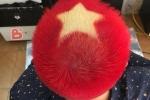 Dân mạng đua nhau nhuộm tóc cờ đỏ sao vàng cổ vũ cho U23 Việt Nam trận chung kết