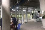 Ngã từ giàn giáo, 4 công nhân bị thương ở khu di tích Yên Tử