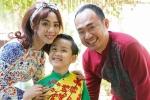Con trai Thu Trang – Tiến Luật lần đầu đóng hài cùng ba mẹ
