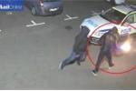 Thanh niên manh động đốt xe cảnh sát, quay clip đăng mạng xã hội có thể lĩnh án 2 năm tù