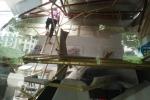 Video: Toàn cảnh vụ đứt cáp cẩu trục công trình ở Hà Nội, 1 người bị thương nặng