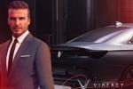 VinFast mời David Beckham ra mắt xe tại Paris Motor Show 2018