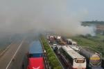 Clip tai nạn liên hoàn trên cao tốc Long Thành - Dầu Giây nhìn từ flycam